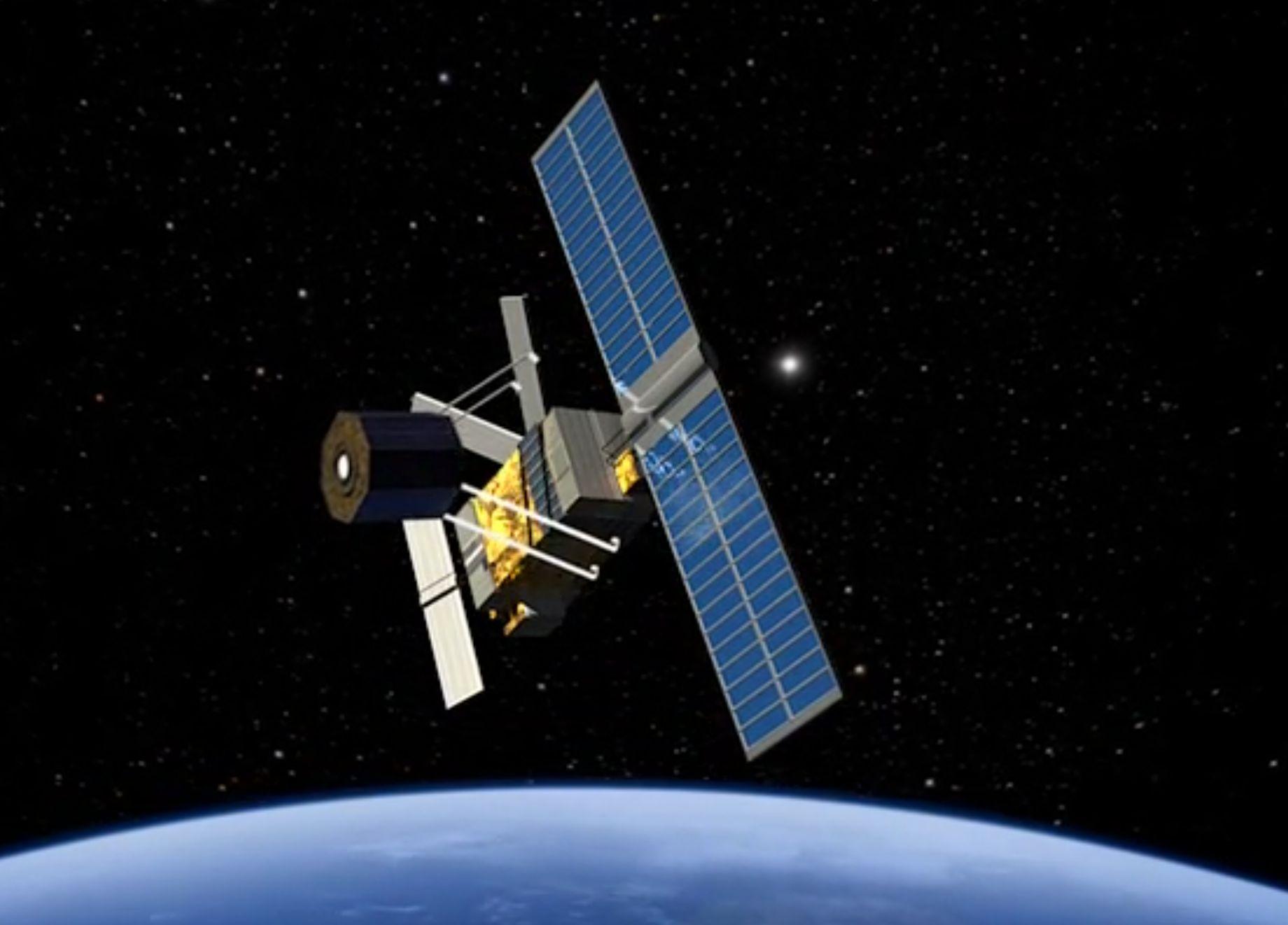 Mit einem zweiseitgen Greifhaken (Clamp) ran an das torkelnde Objekt und es fixieren. Foto: ESA