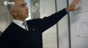 Prof. Dr. Heiner Klinkrad, Leiter des ESA-Büros für Weltraumtrümmer