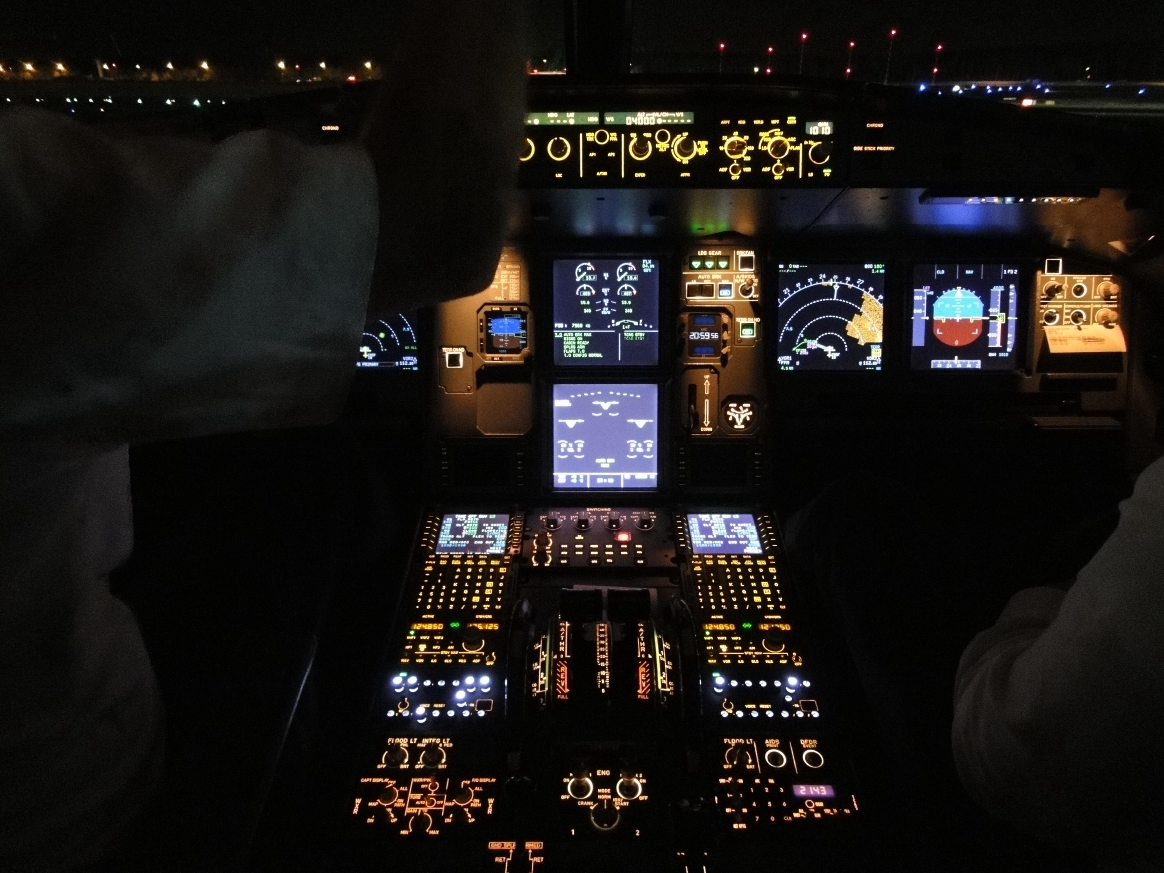 Nachtflug nach Wien, Landung am 23.12 um 23:05, Ankunft im Crewhotel am 24.12. um 0:15.