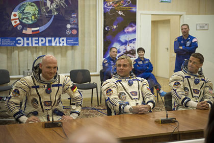Expedition 40/41 flight engineer Alexander Gerst