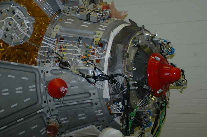 ATV Nozzle. Bild entstand bei beim European Space Research and Technology Centre ESTEC in Nordwijk. (c) H. Kleisny