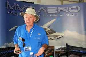 Steve Pugh, Geschäftsführer von MVP Aero